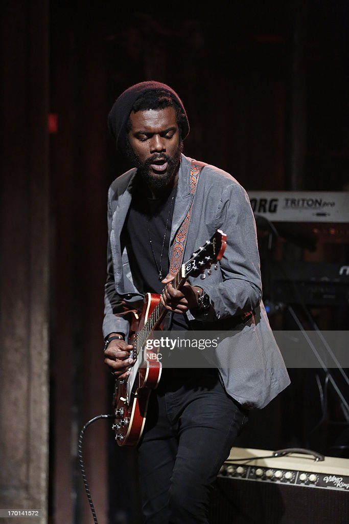 Musical guest Gary Clark Jr. performs on June 7, 2013 --