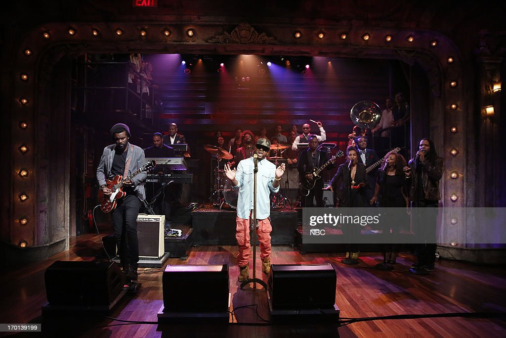 Musical guest The Dream featuring Gary Clark Jr. perform on June 7, 2013 --