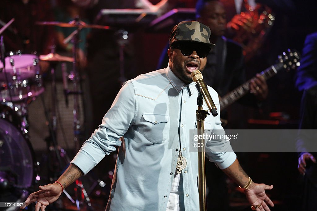 Musical guest The Dream performs on June 7, 2013 --