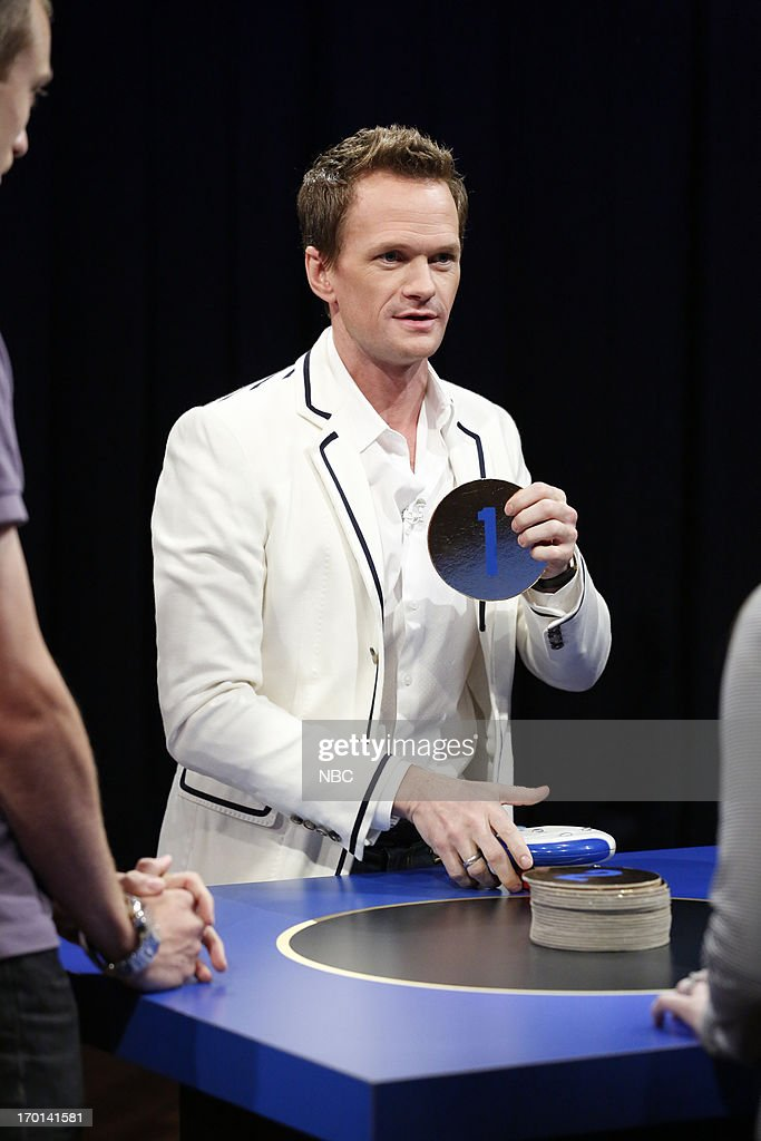 Neil Patrick Harris during a game of 'Catch Phrase' on June 7, 2013 --