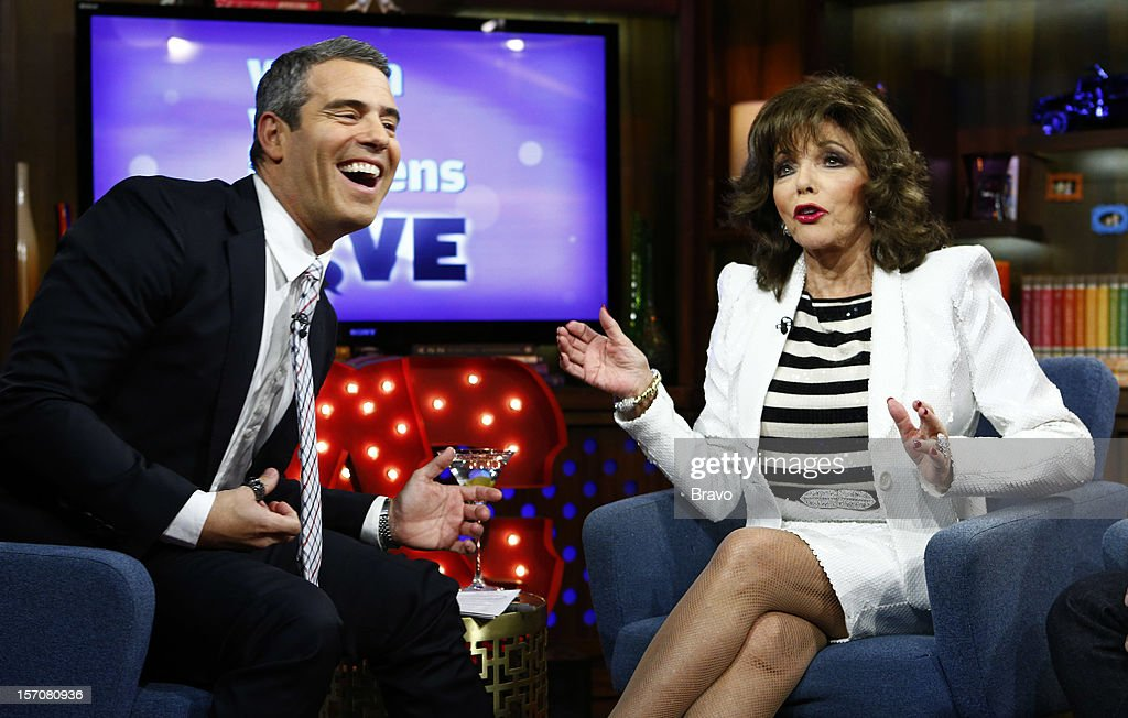 Andy Cohen, Joan Collins --