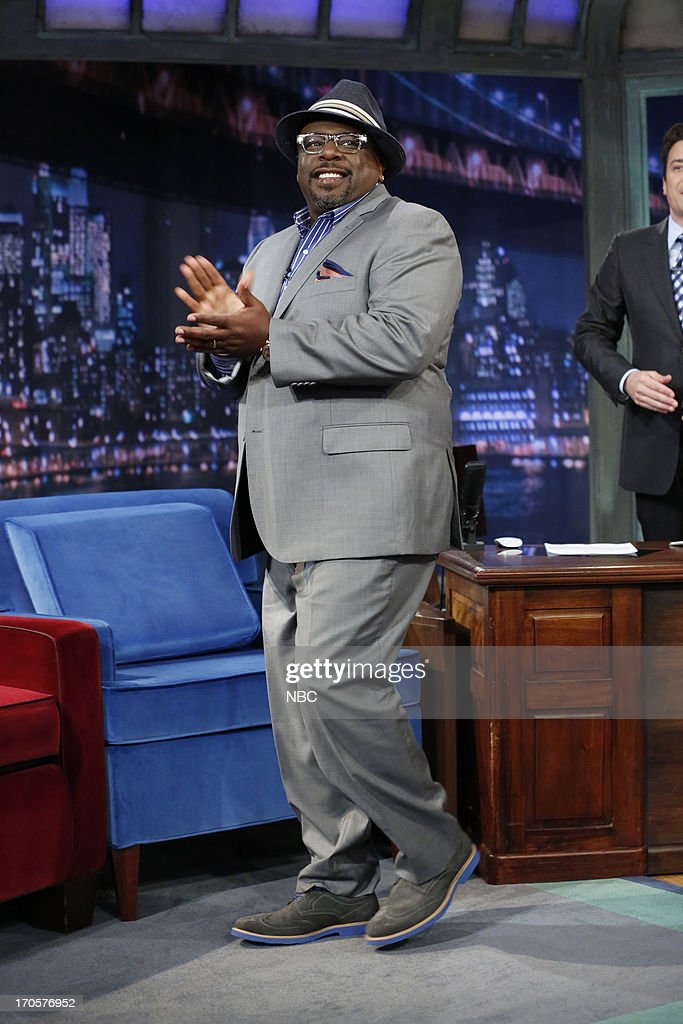 Comedian/actor Cedric the Entertainer arrives on June 14, 2013 --
