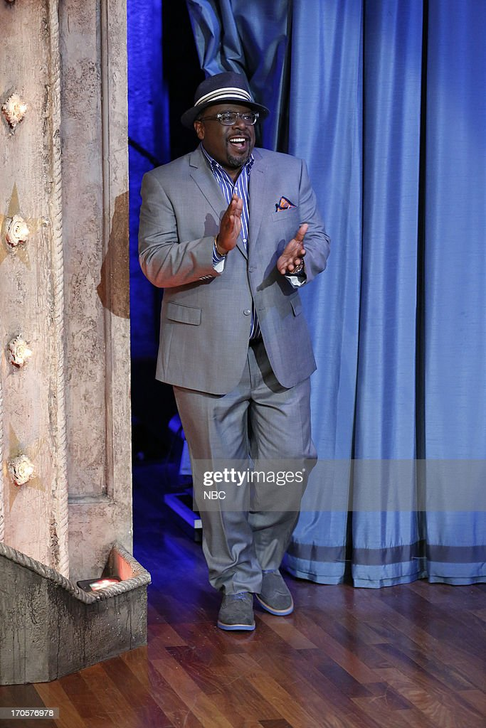 Comedian/actor <a gi-track='captionPersonalityLinkClicked' href=/galleries/search?phrase=Cedric+the+Entertainer&family=editorial&specificpeople=210583 ng-click='$event.stopPropagation()'>Cedric the Entertainer</a> arrives on June 14, 2013 --