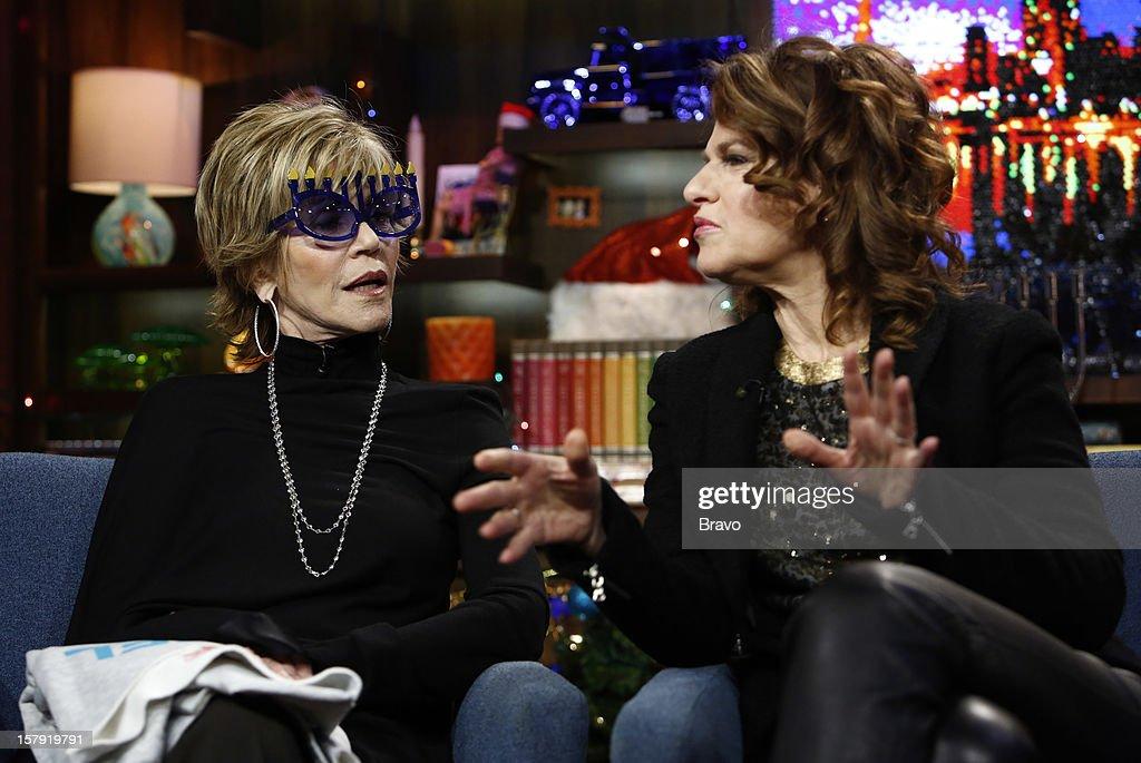 Jane Fonda, Sandra Bernhard --