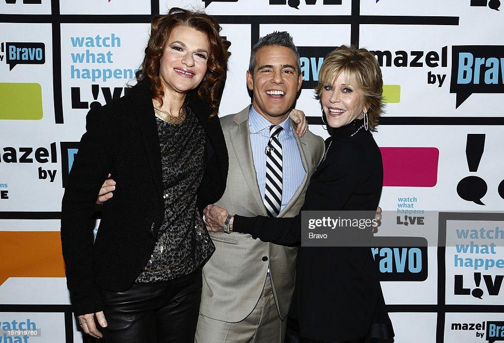 Sandra Bernhard, Andy Cohen, Jane Fonda --