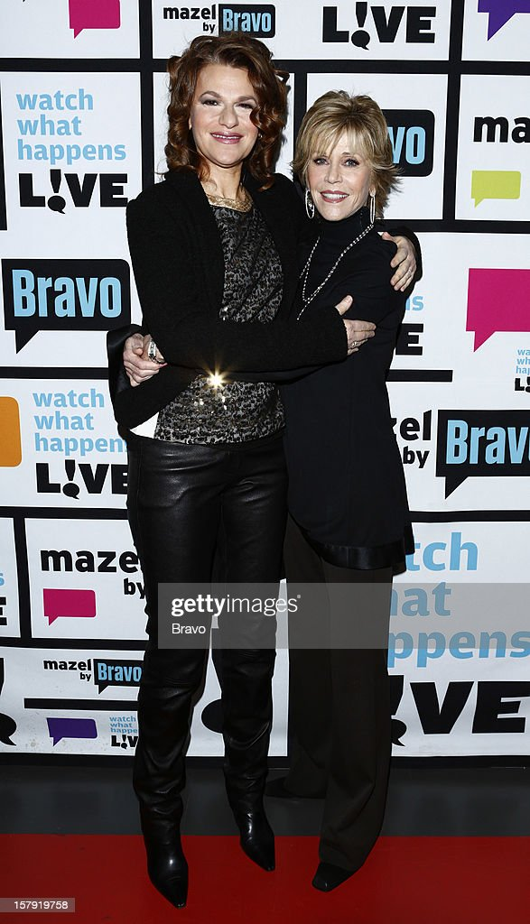 Sandra Bernhard, Jane Fonda --