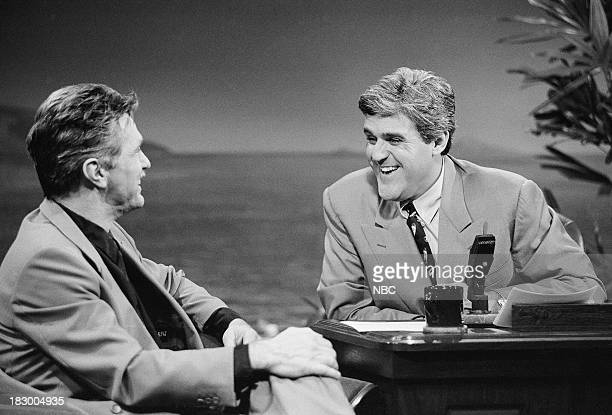 Actor Tom Skerritt during an interview with host Jay Leno on October 6 1992