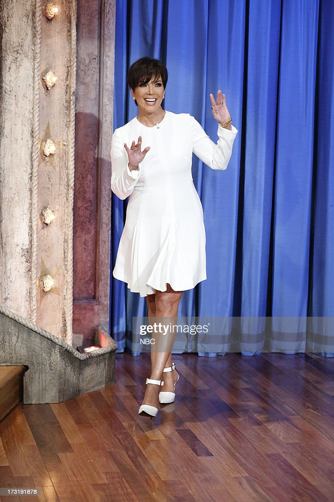 Reality star <a gi-track='captionPersonalityLinkClicked' href=/galleries/search?phrase=Kris+Jenner&family=editorial&specificpeople=762610 ng-click='$event.stopPropagation()'>Kris Jenner</a> arrives on July 9, 2013 --
