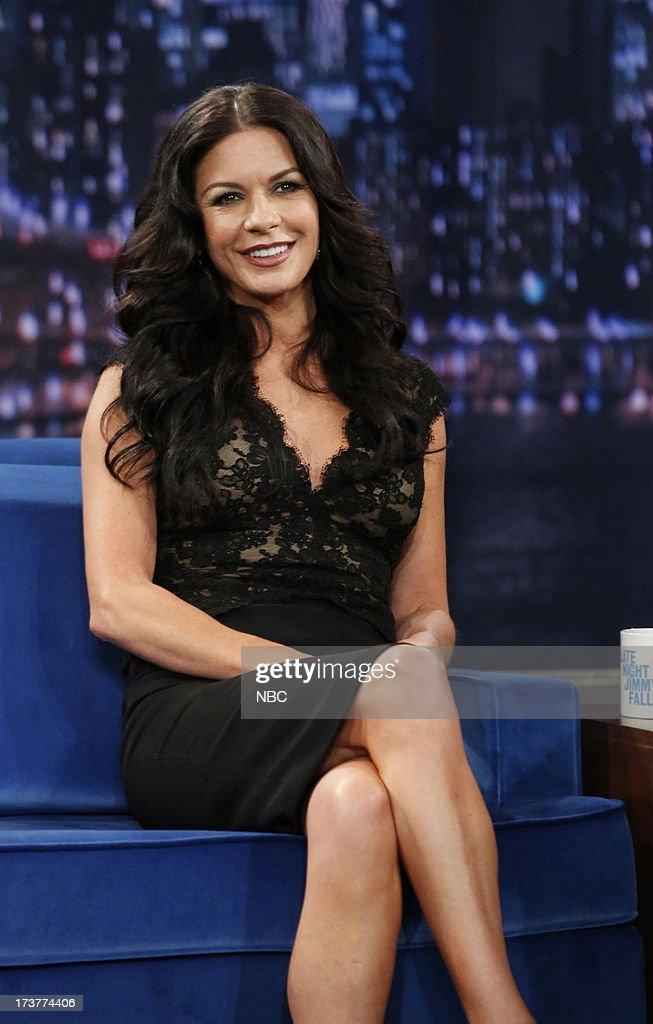 Catherine Zeta-Jones on July 17, 2013 --