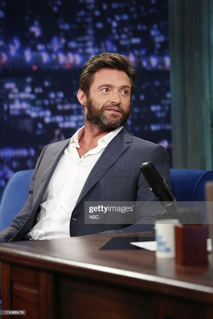 <a gi-track='captionPersonalityLinkClicked' href=/galleries/search?phrase=Hugh+Jackman&family=editorial&specificpeople=202499 ng-click='$event.stopPropagation()'>Hugh Jackman</a> on July 24, 2013 -- (Photo by: Lloyd Bishop/NBC/NBCU Photo Bank via Getty Images).
