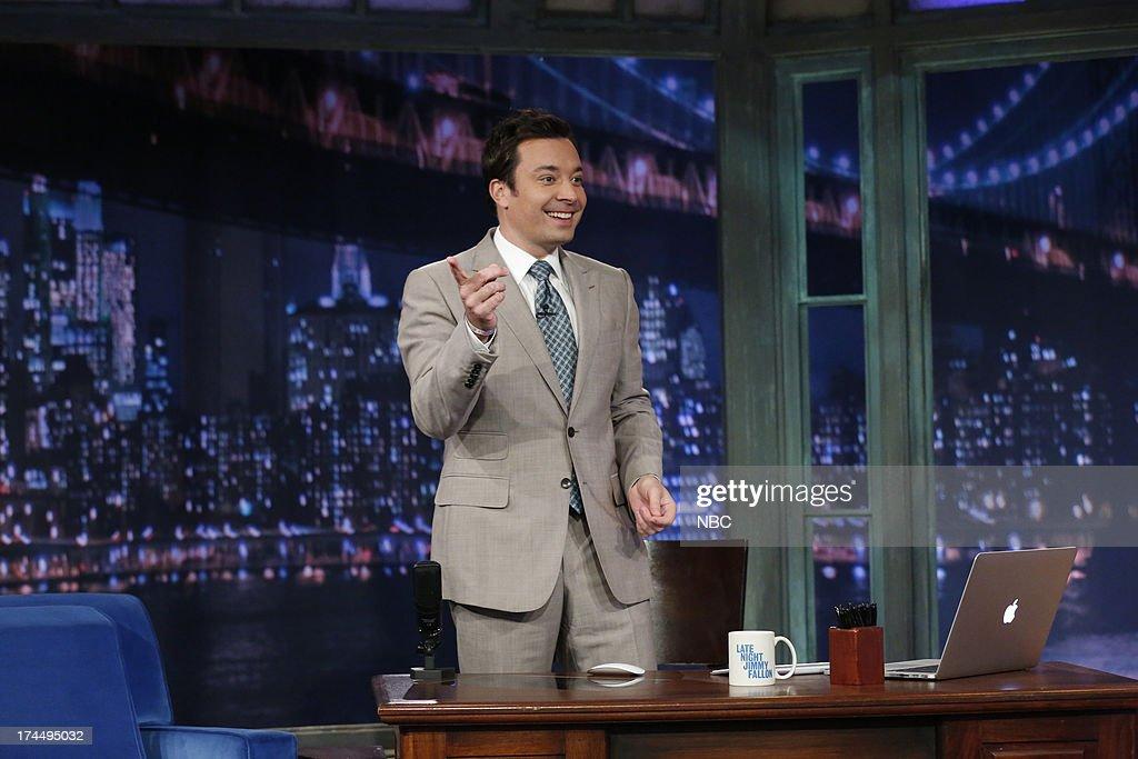 Host Jimmy Fallon on July 26, 2013 --