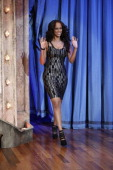 Model/TV personality Tyra Banks arrives on July 31 2013