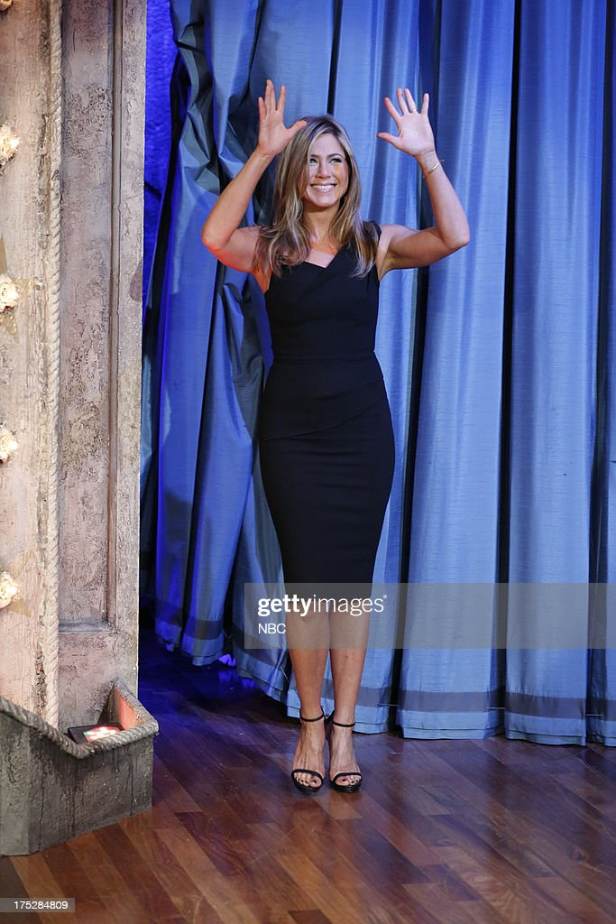 <a gi-track='captionPersonalityLinkClicked' href=/galleries/search?phrase=Jennifer+Aniston&family=editorial&specificpeople=202048 ng-click='$event.stopPropagation()'>Jennifer Aniston</a> arrives on August 1, 2013 --