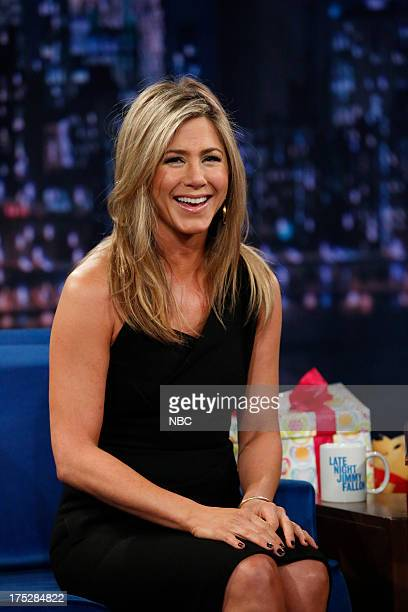 Jennifer Aniston on August 1 2013