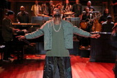 Musical guest Kanye West drops by for a surprise performance of Bound 2 on Monday September 9 2013