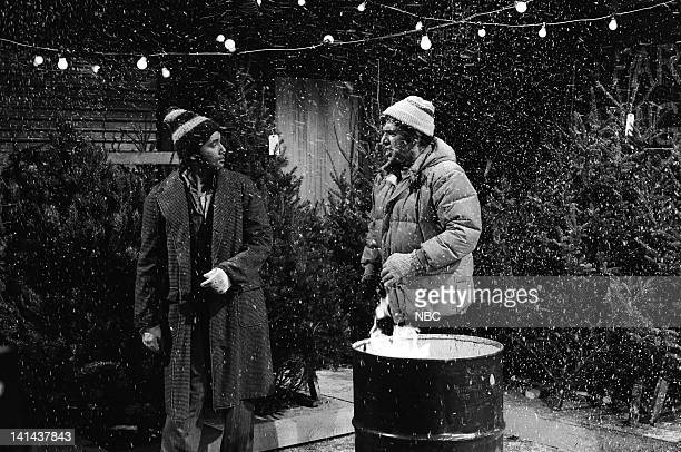 Bill Murray as Honker and Elliott Gould as salesman during the 'Dubs Trees' skit on December 16 1978 Photo by NBC/NBCU Photo Bank