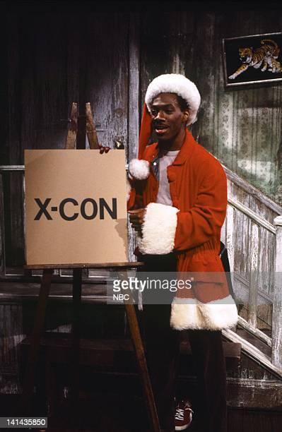 Eddie Murphy as Mr Robinson during 'Mr Robinson's Neighborhood' skit on February 181984 Photo by RM Lewis Jr/NBC/NBCU Photo Bank