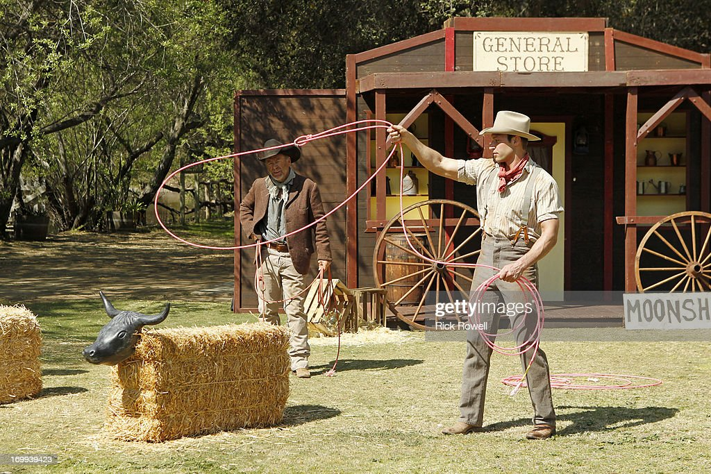 THE BACHELORETTE - 'Episode 903' - Five lucky, rugged guys are schooled in the fine art of cowboy stunts and tricks by the stunt coordinator on Disney's eagerly awaited upcoming release, 'The Lone Ranger,' starring Johnny Depp and Armie Hammer. They'll be competing for a chance to win a seat next to Desiree in an advanced VIP screening of the movie, in theaters on July 3. One hero-in-training steals Desiree's heart with his fancy roping and stuntman skills. Who will be the Bachelorette's 'Lone Ranger?' But a group date rose is still at stake at the after-party, and one of the men will impress Desiree enough to lasso it, on 'The Bachelorette airs MONDAY, JUNE 10 (8:00-10:01p.m., ET) on the ABC Television Network. BRYDEN