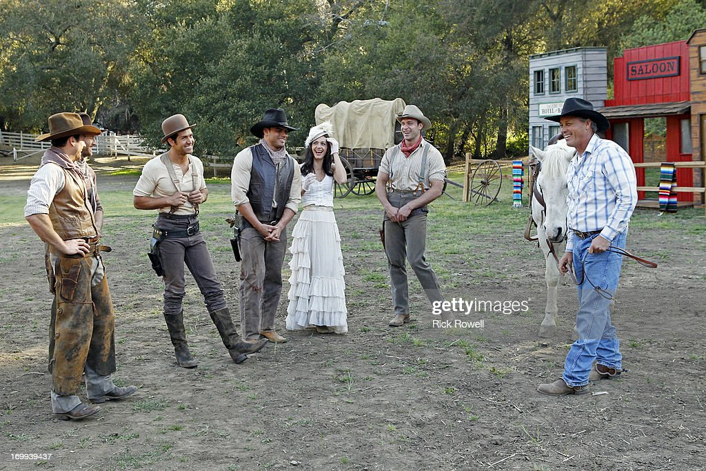 THE BACHELORETTE - 'Episode 903' - Five lucky, rugged guys are schooled in the fine art of cowboy stunts and tricks by the stunt coordinator on Disney's eagerly awaited upcoming release, 'The Lone Ranger,' starring Johnny Depp and Armie Hammer. They'll be competing for a chance to win a seat next to Desiree in an advanced VIP screening of the movie, in theaters on July 3. One hero-in-training steals Desiree's heart with his fancy roping and stuntman skills. Who will be the Bachelorette's 'Lone Ranger?' But a group date rose is still at stake at the after-party, and one of the men will impress Desiree enough to lasso it, on 'The Bachelorette airs MONDAY, JUNE 10 (8:00-10:01p.m., ET) on the ABC Television Network. HARTSOCK, BRYDEN