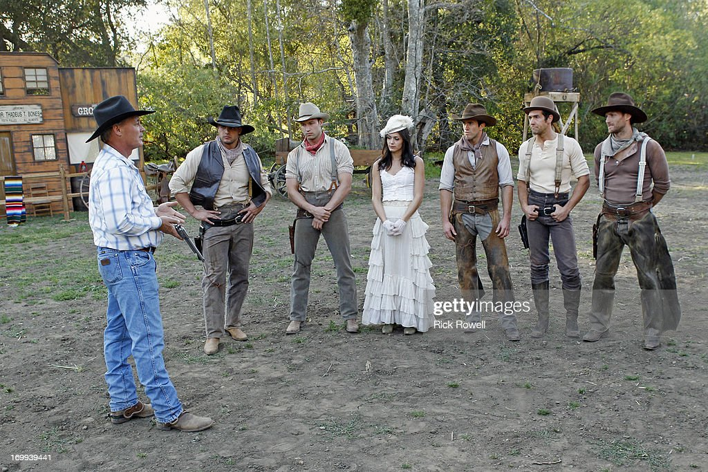 THE BACHELORETTE - 'Episode 903' - Five lucky, rugged guys are schooled in the fine art of cowboy stunts and tricks by the stunt coordinator on Disney's eagerly awaited upcoming release, 'The Lone Ranger,' starring Johnny Depp and Armie Hammer. They'll be competing for a chance to win a seat next to Desiree in an advanced VIP screening of the movie, in theaters on July 3. One hero-in-training steals Desiree's heart with his fancy roping and stuntman skills. Who will be the Bachelorette's 'Lone Ranger?' But a group date rose is still at stake at the after-party, and one of the men will impress Desiree enough to lasso it, on 'The Bachelorette airs MONDAY, JUNE 10 (8:00-10:01p.m., ET) on the ABC Television Network. PABLO