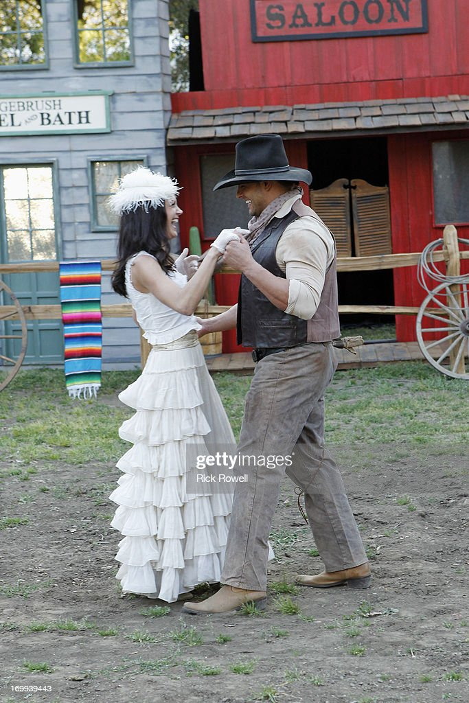 THE BACHELORETTE - 'Episode 903' - Five lucky, rugged guys are schooled in the fine art of cowboy stunts and tricks by the stunt coordinator on Disney's eagerly awaited upcoming release, 'The Lone Ranger,' starring Johnny Depp and Armie Hammer. They'll be competing for a chance to win a seat next to Desiree in an advanced VIP screening of the movie, in theaters on July 3. One hero-in-training steals Desiree's heart with his fancy roping and stuntman skills. Who will be the Bachelorette's 'Lone Ranger?' But a group date rose is still at stake at the after-party, and one of the men will impress Desiree enough to lasso it, on 'The Bachelorette airs MONDAY, JUNE 10 (8:00-10:01p.m., ET) on the ABC Television Network. HARTSOCK, JAMES