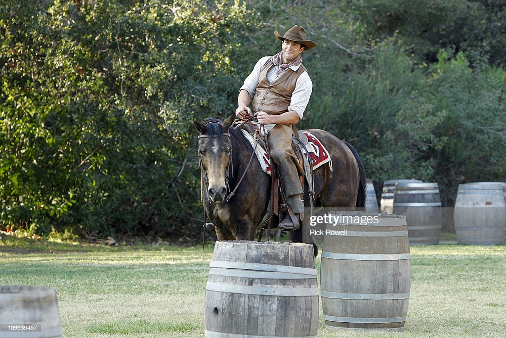 THE BACHELORETTE - 'Episode 903' - Five lucky, rugged guys are schooled in the fine art of cowboy stunts and tricks by the stunt coordinator on Disney's eagerly awaited upcoming release, 'The Lone Ranger,' starring Johnny Depp and Armie Hammer. They'll be competing for a chance to win a seat next to Desiree in an advanced VIP screening of the movie, in theaters on July 3. One hero-in-training steals Desiree's heart with his fancy roping and stuntman skills. Who will be the Bachelorette's 'Lone Ranger?' But a group date rose is still at stake at the after-party, and one of the men will impress Desiree enough to lasso it, on 'The Bachelorette airs MONDAY, JUNE 10 (8:00-10:01p.m., ET) on the ABC Television Network. DAN
