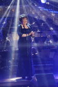 SHOW 'Episode 908A' Scottish singing sensation Susan Boyle took to the 'Dancing with the Stars' stage for a show stopping performance of 'I Dreamed a...