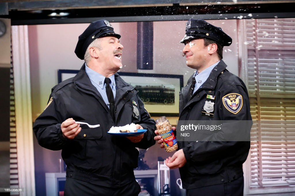 Alec Baldwin and Jimmy show clips from, 'Point Pleasant Police Department,' their 80's cop sitcom on Monday, October 21, 2013--