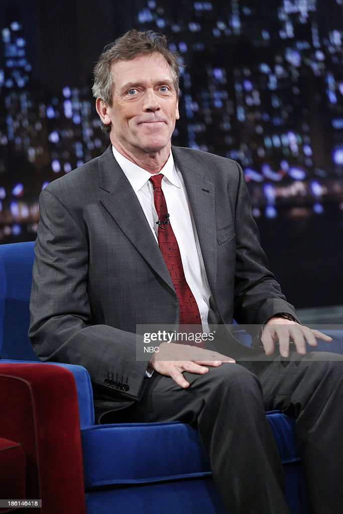 Hugh Laurie on Monday,...