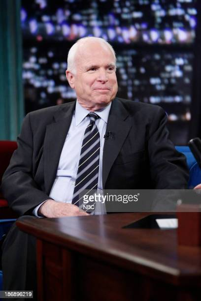 Senator John McCain on Monday November 4 2013