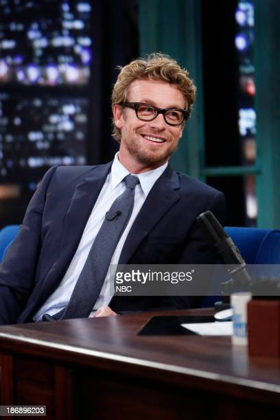 Simon Baker on Monday November 4 2013