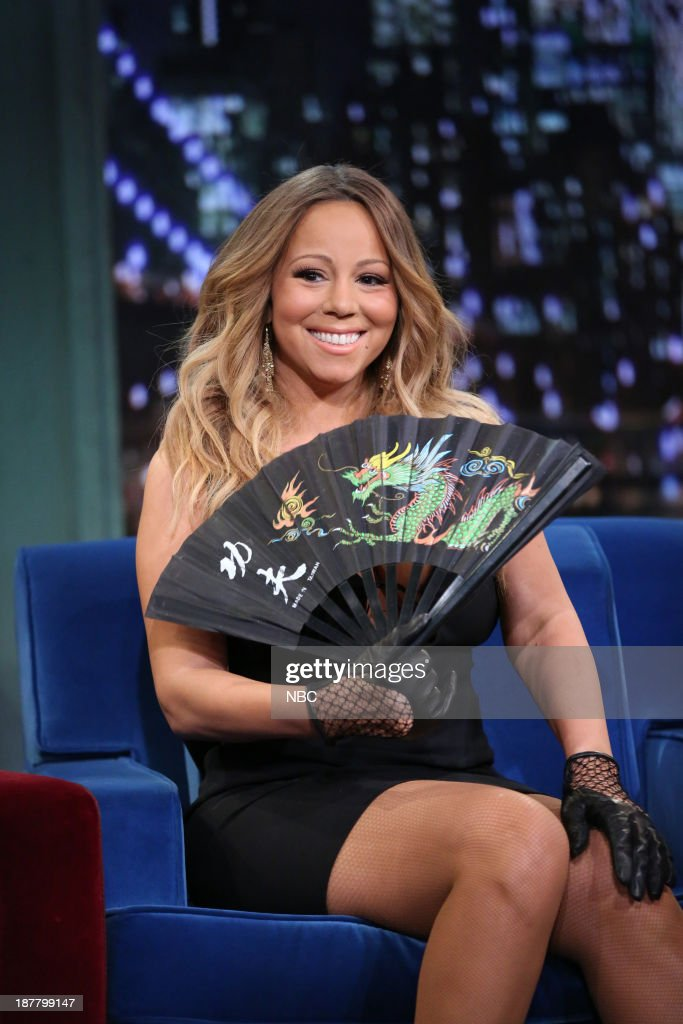 Mariah Carey on Tuesday, November 12, 2013--