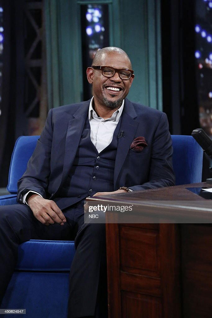 Actor <a gi-track='captionPersonalityLinkClicked' href=/galleries/search?phrase=Forest+Whitaker&family=editorial&specificpeople=226590 ng-click='$event.stopPropagation()'>Forest Whitaker</a> on Tuesday, November 19, 2013 --