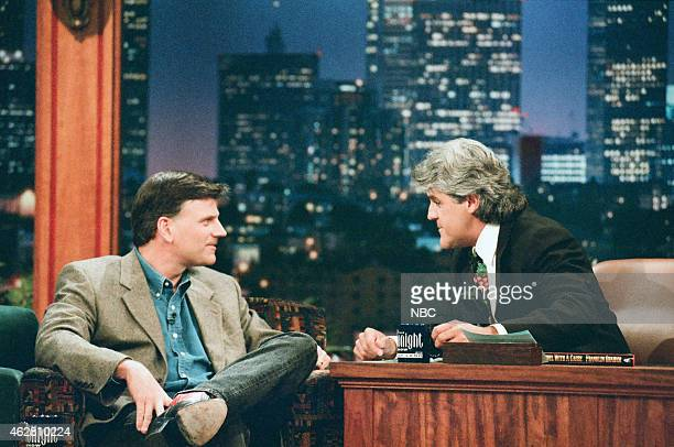 Evangelist Franklin Graham during an interview with host Jay Leno on May 29 1996