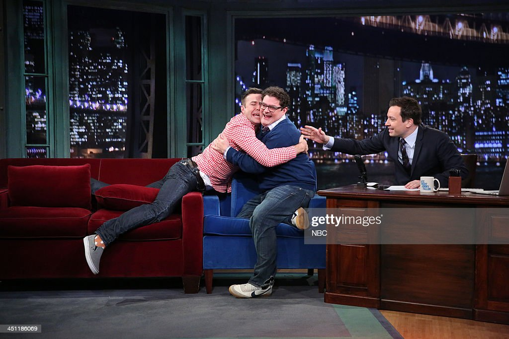 "NBC's ""Late Night with Jimmy Fallon"" With Guests Liam Hemsworth, Bobby Moynihan, Sleigh Bells"