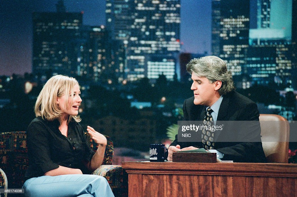 Singer Jewel during an interview with host Jay Leno on June 4 1996