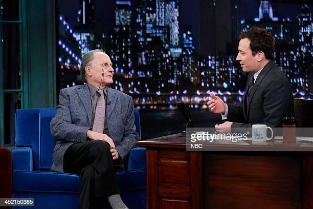 Budd Friedman with host Jimmy Fallon during an interview on Tuesday November 26 2013