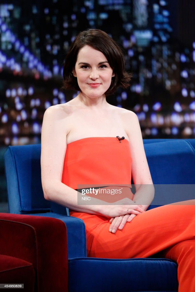 Michelle Dockery on Tuesday, December 10, 2013 --