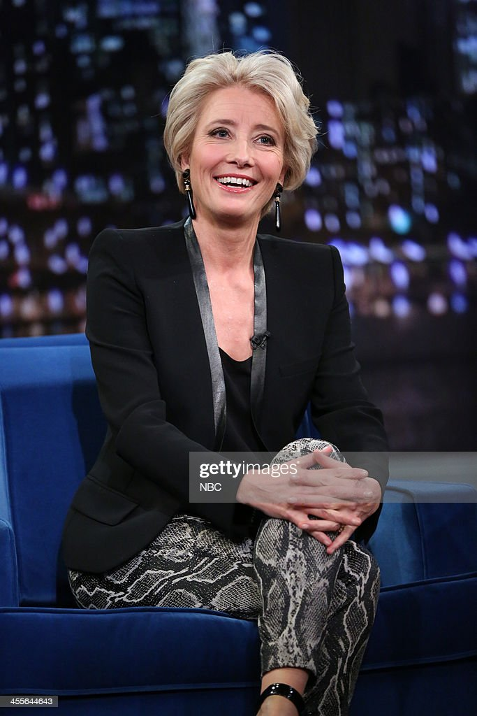 Emma Thompson on Thursday, December 12, 2013 --