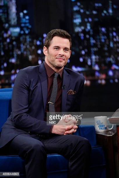 James Marsden on Thursday December 12 2013