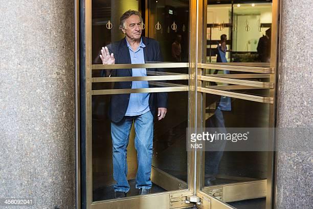 Robert De Niro during the De Niro vs Revolving Door skit on Thursday December 12 2013