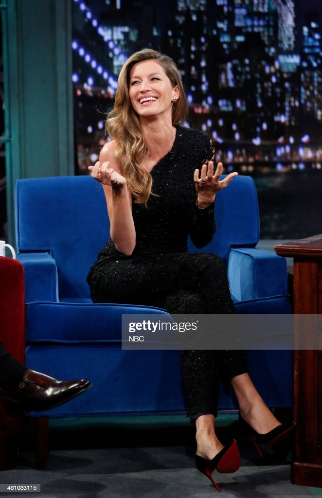 Gisele B?ndchen on Monday, January 6, 2014 --