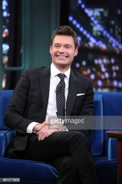 Ryan Seacrest on Tuesday January 7 2014