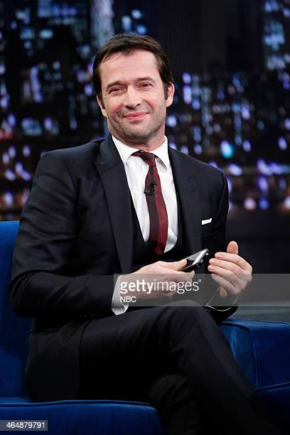 James Purefoy on Friday January 24 2014