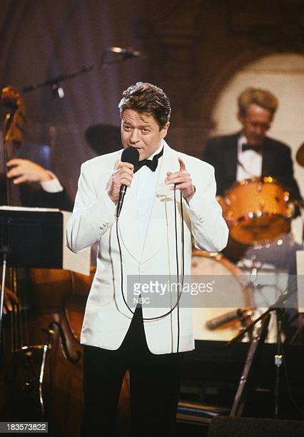 Musical guest Robert Palmer performs on October 28 1992