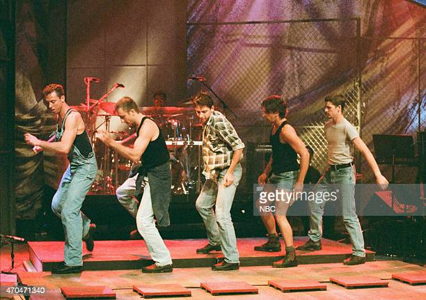 Tap Dogs perform on August 30 1996