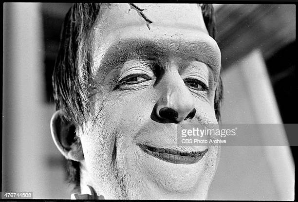 MUNSTERS episode 'Prehistoric Munster' Episode 25 season 2 originally aired March 10 1966 Image dated January 11 1966 Pictured is Fred Gwynne as...