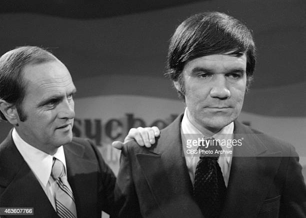 SHOW episode 'The Last TV Show' Bob Newhart and Jack Riley Image dated June 27 1973