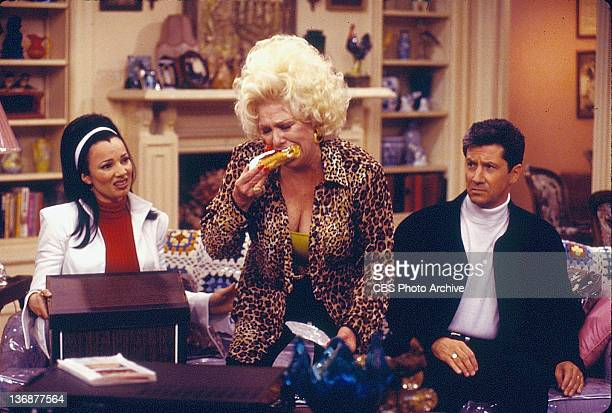 'The Taxman Cometh' From left Fran Drescher Renee Taylor and Charles Shaughnessy Image dated October 25 1996