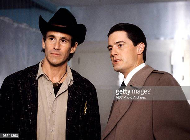 PEAKS Episode Three Season One 4/26/1990 FBI Special Agent Dale Cooper tells local Sheriff Harry STruman about his dream of former homecoming queen...